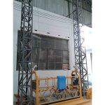 10m powered aluminum rope gisuspendi platform zlp1000 single phase 2 * 2.2kw