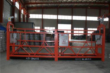aluminum alloy / steel / hot galvanized suspended access equipment zlp630