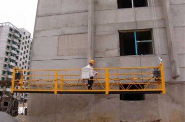 Ang 2.5 m * 3 nga seksyon temporaryo nga nag-instalar sa kagamitan sa access zlp800 uban ang pagtaas sa 1.8 kw