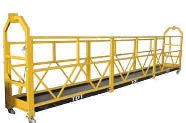 steel / hot galvanized / aluminum alloy rope gisuspinde nga platform 1.5kw 380v 50hz