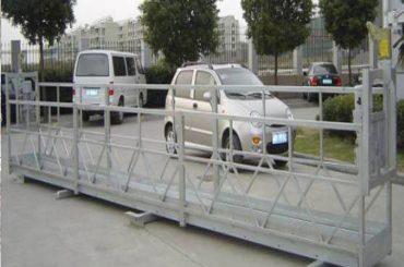 2.5mx 3 ka seksyon nga nag-agi sa mga plataporma nga 800kg aluminum nga adunay safety lock nga 30kn