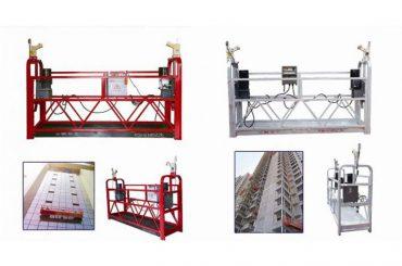 taas nga gikusgon ang gisuspinde nga access cradle scaffolding nga mga plataporma 2m x 2 nga mga seksyon